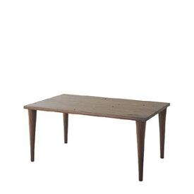 飛騨産業 森のことばWalnutシリーズ テーブル(W135) SW342WP キツツキマーク 【代引対象外】