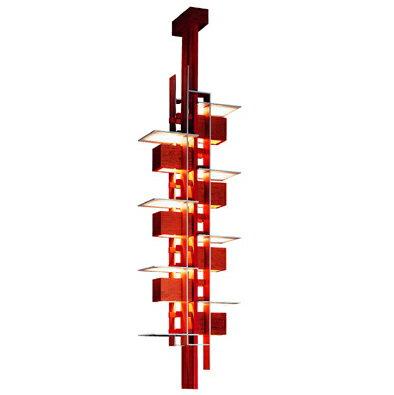 【Pt3倍UP中!3月23日まで!】ヤマギワ タリアセン ペンダント 照明器具 吊り下げ式 フランク・ロイド・ライト P2431