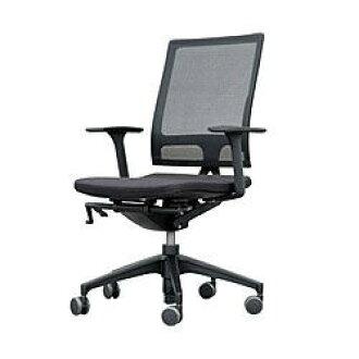 (CEDAW) SEDUS 打开心灵椅子铝基于黑高座位类型 (253UM100YAB40A3111M)