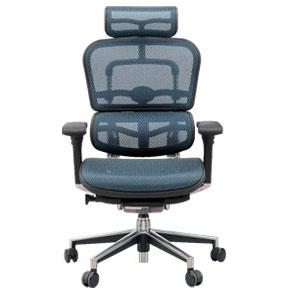 To transfer  Ergohuman (ergohuman) basic office chair (headrest) EH-HAM (KM-15) Blue elastomeric mesh ? cash on delivery if you take extra shipping and ...  sc 1 st  Rakuten & Telshop Japan: u0026quot;To transferu0026quot; Ergohuman (ergohuman) basic ...