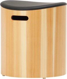 天童木工 チェア F-3253SG-NT 張地グレードA スギ柾目圧密成形(ナチュラル) High Type スツール【受注生産のため約1か月〜】【代引対象外】