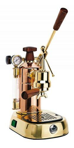 【正規輸入品】パボーニ プロフェッショナル PRG 18金メッキ(銅) エスプレッソコーヒーマシン ラパボーニ la Pavoni