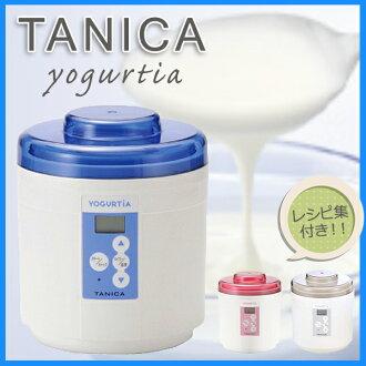 有2個yogurutiasutatasetto容器專用的匙子食譜集的YM-1200-N tanika電器銷售優格廠商YM1200N