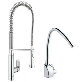 高仪 (高仪) JP193500 厨房水龙头 + 水净化单元 K7 设置