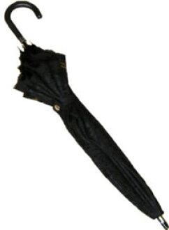 UV 컷 총 레이스 슬라이드 중 우산 블랙