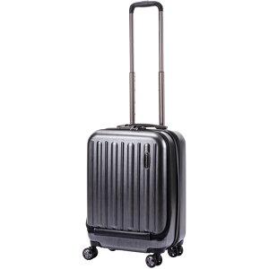 HIDEO WAKAMATSU スーツケース フロントオープン フラッシュ 55cm 85-75991