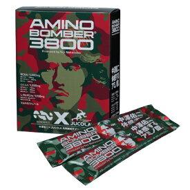 【ジャコラ】 アミノボンバー3800 アミノ酸高含有スポーツサプリメント #90196 5.3g×14包入り 【健康食品:サプリメント:アミノ酸:BCAA(分岐鎖アミノ酸)】【JUCOLA AMINO BOMBER3800】
