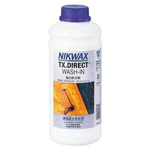 【ニクワックス】 TXダイレクトWASH-IN(洗濯式) 詰替 透湿防水布地用撥水剤 #EBE253 1L 【スポーツ・アウトドア:その他雑貨】【NIKWAX】