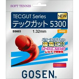 【ゴーセン】 TECGUT(テックガット) テックガット5300 [カラー:レッド] [長さ:11.5m] #SS603-RE 【スポーツ・アウトドア:その他雑貨】【GOSEN】