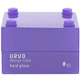 【デミコスメティクス】 ウェーボ デザインキューブ ハードグロス 30g 【ヘアケア:スタイリング:クリーム】【ウェーボ デザインキューブ】【DEMI COSMETICS UEVO DESIGN CUBE HARD GLOSS PROFESIONAL-USE】