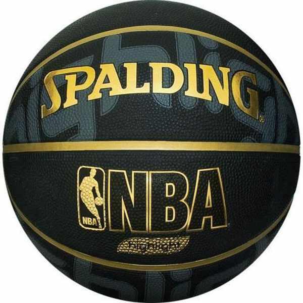 【スポルディング】 ゴールドハイライト バスケットボール 5号球 [カラー:ブラック×ゴールド] #83-362J 【スポーツ・アウトドア:その他雑貨】【SPALDING】