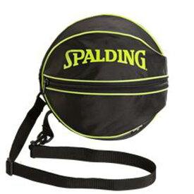 【スポルディング】 バスケットボールバッグ(1個入れ) [カラー:ライムグリーン] [サイズ:直径約27cm] #49-001LG 【スポーツ・アウトドア:その他雑貨】【SPALDING Ball Bag Lime Green】