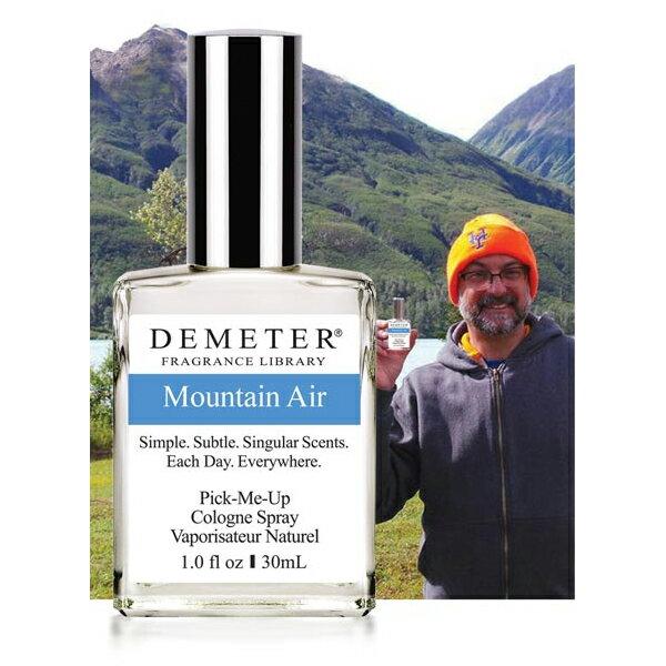 【ディメータ—】 マウンテン エア オーデコロン・スプレータイプ 30ml 【香水・フレグランス:フルボトル:ユニセックス・男女共用】【DEMETER MOUNTAIN AIR COLOGNE SPRAY】