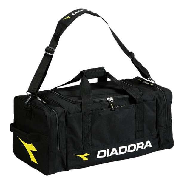 【ディアドラ】 ツアーバッグL [カラー:ブラック] [サイズ:70×30×33cm] #AB5601-99 【スポーツ・アウトドア:アウトドア:バッグ:ボストンバッグ・ダッフルバッグ】【DIADORA】