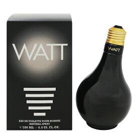 【ワット】 ワットブラック オーデトワレ・スプレータイプ 200ml 【香水・フレグランス:フルボトル:レディース・女性用】【WATT WATT BLACK EAU DE TOILETTE SPRAY】
