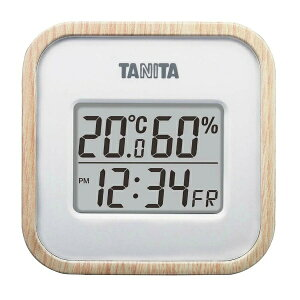 【タニタ】 タニタ デジタル温湿度計 TT-571-NA ナチュラル 【キッチン用品:調理用具・器具:計量器:温度計】【タニタ デジタル温湿度計】【TANITA】