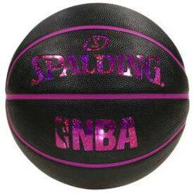 【スポルディング】 ホログラムラバ— バスケットボール 5号球 [カラー:ブラック×レッド] #83-795J 【スポーツ・アウトドア:その他雑貨】【SPALDING】