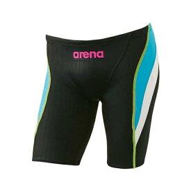 【アリーナ】 X-PYTHON2 ハーフスパッツ パンパシ2018日本代表サプライモデル [サイズ:L] [カラー:ブラック×ブルーF×ホワイト] #ARN-M8536M-BKBW 【スポーツ・アウトドア:水泳:競技水着:メンズ競技水着】【ARENA】