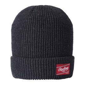 【ローリングス】 ワッフルワッチキャップ(シンサレート) [カラー:ブラック] [サイズ:フリー] #AAC7F02-B 【スポーツ・アウトドア:アウトドア:ウェア:メンズウェア:帽子】【RAWLINGS】