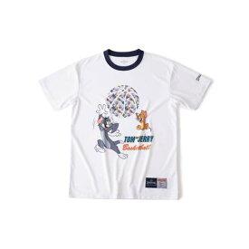 【スポルディング】 Tシャツ トム&ジェリ— ボール [サイズ:M] [カラー:ホワイト] #SMT190600 【スポーツ・アウトドア:バスケットボール:ウェア:レディースウェア:プラクティスシャツ】【SPALDING】