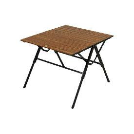 【小川キャンパル】 3ハイ&ローテーブル [カラー:ダークブラウン×ブラック] [サイズ:幅81×奥行70×高さ35.5〜59.5cm] #1980 【スポーツ・アウトドア:その他雑貨】【OGAWA CAMPAL 3 High&Low Table】
