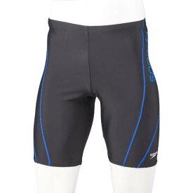 【スピード】 メンズジャマ— V(メンズ) [サイズ:L] [カラー:ブラック×ブルー] #SF62015V-KB 【スポーツ・アウトドア:水泳:競技水着:メンズ競技水着】【SPEEDO Mens Jammer V】