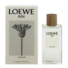 【割引クーポン有】 【送料無料】 ロエベ 001 ウーマン EDP・SP 100ml [あす楽] 【ロエベ】【香水 フレグランス】【レディース・女性用】【LOEWE LOEWE 001 WOMAN EAU DE PARFUM SPRAY】
