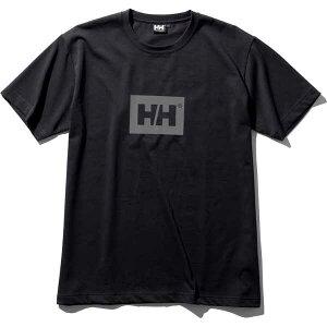 【ヘリーハンセン】 ショートスリーブ HHロゴティー(ユニセックス) [サイズ:M] [カラー:ブラック] #HE62028-K 【スポーツ・アウトドア:その他雑貨】【HELLY HANSEN S/S HH Logo Tee】