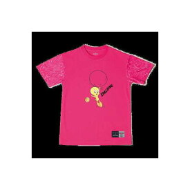 【スポルディング】 Tシャツ トゥイーティ— バルーン [サイズ:L] [カラー:ピンク] #SMT181370 【スポーツ・アウトドア:その他雑貨】【SPALDING T-Shirt TWEETY BALLOON】