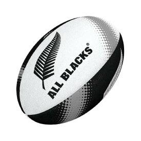 【ギルバート】 オールブラックス・サポーターボール(3号) ホワイト×ブラック #GB-9364 【スポーツ・アウトドア:ラグビー:ボール】【GILBERT】