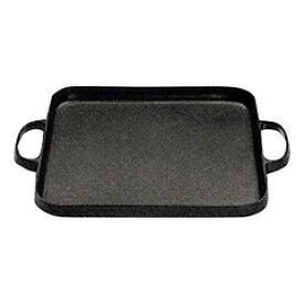 【及源鋳造】 盛栄堂 焼肉鍋 角 CA-31 【キッチン用品:調理用具・器具:グリルパン:IH/ガス両方対応】【盛栄堂】【OIGENTYUZOU】