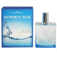 【アルタモーダ】 オーセンティック ブル— オーデトワレ・スプレータイプ 100ml 【香水・フレグランス:フルボトル:メンズ・男性用】【ALTA MODA AUTHENTIC BLUE EAU DE TOILETTE SPRAY】
