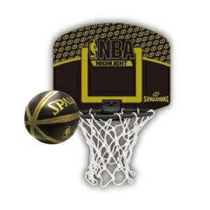 【スポルディング】 マイクロミニバックボード NBA ハイライト #77-587Z 【スポーツ・アウトドア:バスケットボール:ボール】【SPALDING】