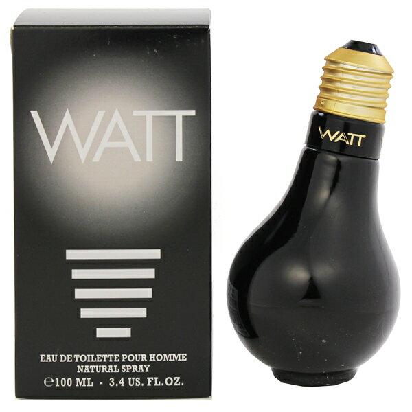 【ワット】 ワットブラック オーデトワレ・スプレータイプ 100ml 【香水・フレグランス:フルボトル:レディース・女性用】【WATT WATT BLACK EAU DE TOILETTE SPRAY】