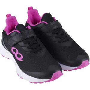 【アンリミティブ】 BANDAI アンリミティブ S-LINE S-01-F 面ファスナータイプ [サイズ:20.0cm] [カラー:ブラック×ピンク] #2507490-BKPINK 【スポーツ・アウトドア:ジョギング・マラソン:シューズ】