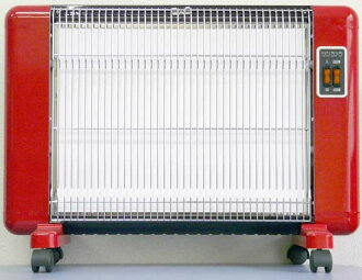 Sanramera 600 W-606-F red (limited colors) far infrared radiant type ceramic heater