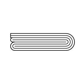 リンナイ FOT-229(カバー 1m) ガスFF暖房機オプション RHF-309FT・RHF-559FT・RHF-561FT・RHF-1005FT用 10-3707【送料サイズA】