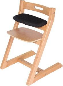 Hoppl ホップル チョイスシリーズ専用クッションカバー CH-BC-BK ブラック スモールシート用 (チョイスベビー・キッズ専用クッション) 椅子本体は付属しません