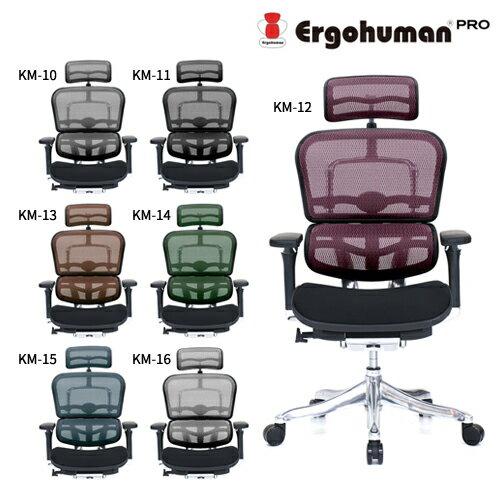 【組立無料】エルゴヒューマン プロ EHP-HBM モールドクッション座面 ハイタイプ Ergohuman PRO【代引き不可】