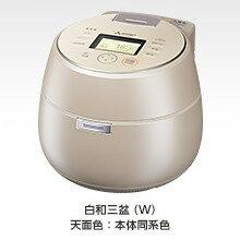 【代引き手数料無料】三菱(MITSUBISHI) IHジャー炊飯器 本炭釜 KAMADO NJ-AW108(W) 白和三盆