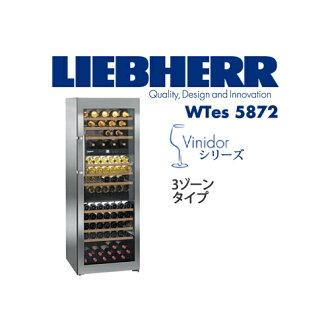 利勃海尔利勃海尔酒酒内阁 1 门 3 区 / 货到付款可能内阁 WTes5872 Vinidor