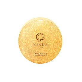 金箔入り化粧品 金華ゴールド ナノソープ 洗顔石鹸 【あす楽】 Kinka Gold Nano Soap MADE IN JAPAN