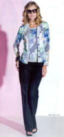 トールサイズのパンツ 44サイズ 11号 ジャージーパンツ 春夏 濃紺 股下80cm以上 Liola ウエストゴム 【Fashion the Sale 限定 78%オフ】