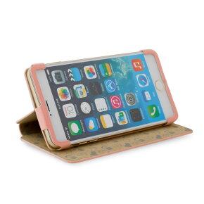 リトルピンク&ブロキガケースforiPhone6Plus