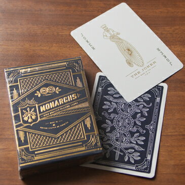 """エレガントで高品質な""""本物""""のトランプ。【theory 11】Monarch Playing Cards./モナーク プレイング カード【_デック_トランプ_カード_マジシャン_マジック_手品の通販のテンプー】"""