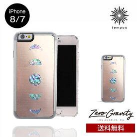 送料無料 メール便 iPhone8/7 ZERO GRAVITY MOONLIGHT スマホケース アイフォン8 アイフォン7 スリム シングル ケース おしゃれ 人気 クール 大人 女子 刺繍 モデル メンズ ゼログラビティブランド tempoo