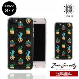 送料無料 メール便 iPhone8/7 ZERO GRAVITY SANTA FE スマホケース アイフォン8 アイフォン7 スリム シングル ケース おしゃれ 人気 クール 大人 女子 刺繍 さぼてん セレブ モデル ゼログラビティ ブランド tempoo