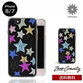 送料無料 メール便 iPhone8/7 ZERO GRAVITY STARSTRUCK スマホケース アイフォン8 アイフォン7 スリム シングル ケース おしゃれ 人気 クール 大人 女子 星 スター セレブ モデル ゼログラビティ ブランド tempoo