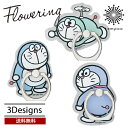 送料無料 メール便 Flowering I`mDORAEMON スマートフォンリング DR-S0021 バンカーリング スマホリング 簡単装着 落…