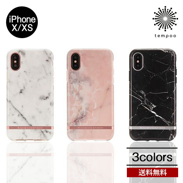 送料無料 メール便 roa FREEDOM CASE Marble iPhoneX iPhoneXS マーブル シングル スウェーデン スマホケース アイフォン ケース ロア 高級感 カバー 大理石柄 case メンズ おしゃれ レディース リッチモンドアンドフィンチ 人気 Richmond&Finch クラシカル tempoo